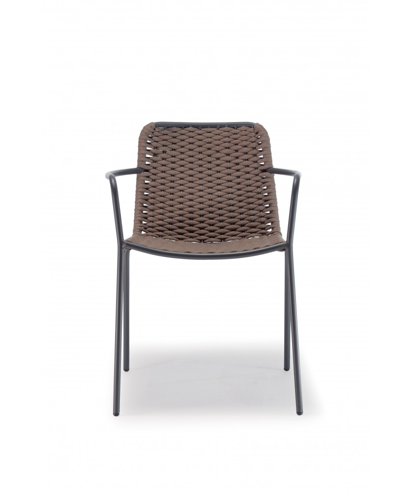 Outdoor Sessel VINCI LUX, stapelbar