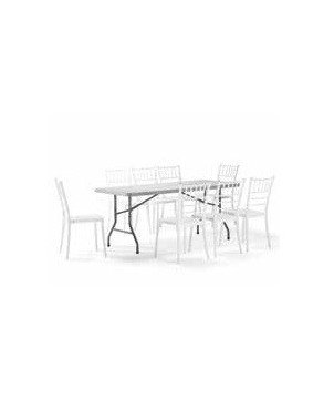 Outdoor Catering Set FAENZA mit 8 Sesseln