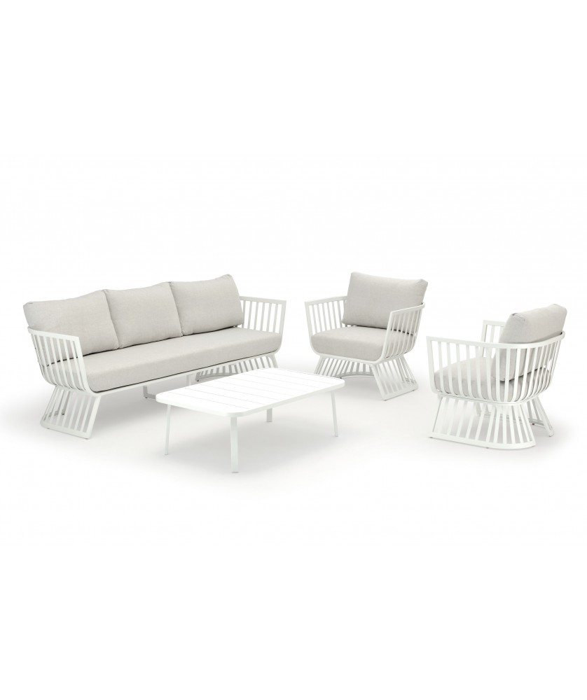 Outdoor Lounge Set MONTSERRAT, 4-teilig