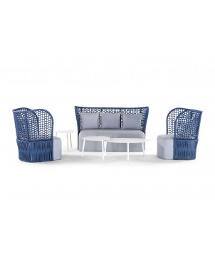 Outdoor Lounge Set SABA, 4-teilig