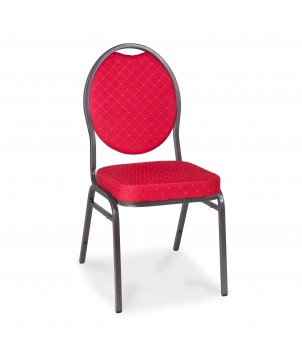 Bankettstuhl MX ECO KONF CHAIR RED, stapelbar, rot